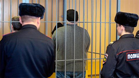 Шакро Молодой во время приговора