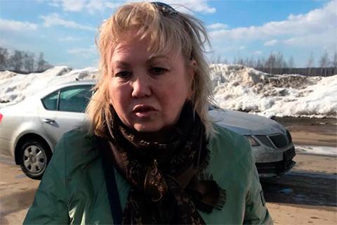 В 2013 году глава инспекции государственного строительного надзора Кемеровской области Танзиля Комкова