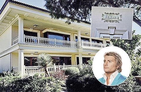 Вилла Баскова, расположенная на территории отеля «Мардан-палас»