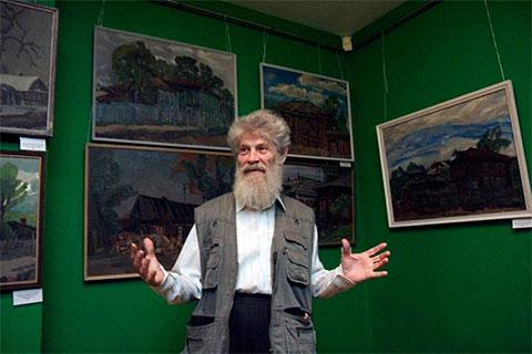 Тюменский художник Юрий Рыбьяков и его картины