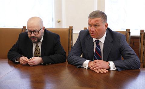 Слева: Артем Биков и Алексей Бобров