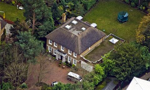 Дом Александра Перепеличного в Вейбридже