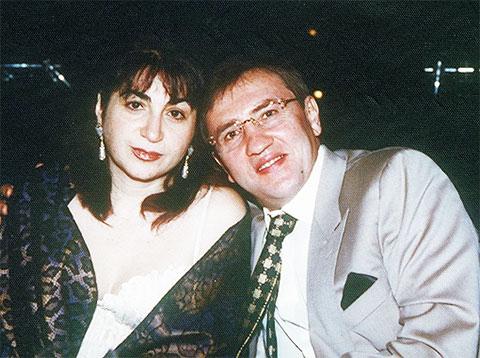 Алина Айвазова и Леонид Черновецкий