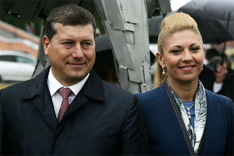 Олег Сорокин и Элада Нагорная