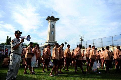 В тюрьме Тайланда