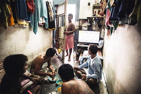 Камера привилегированных заключенных в тюрьме Тайланда