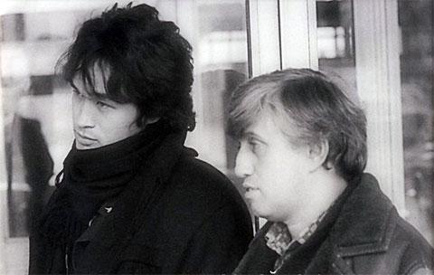Юрий Айзеншпис и Виктор Цой
