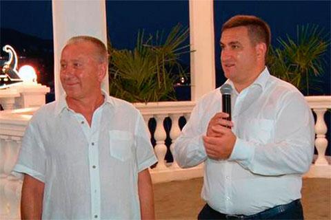 Слева: Сергей Миронов и Андрей Ростенко