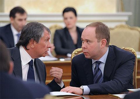 Антон Вайно и Игорь Сечин