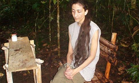 Ингрид Бетанкур в плену у террористов