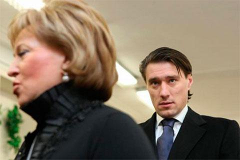 Валентина и Сергей Матвиенко