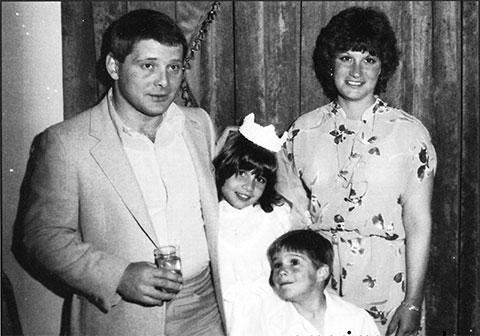 Сальваторе Гравано с семьей