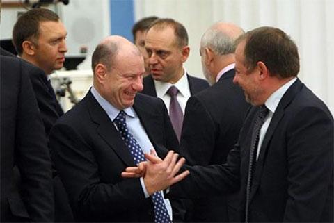 Владимир Лисин и Владимир Потанин