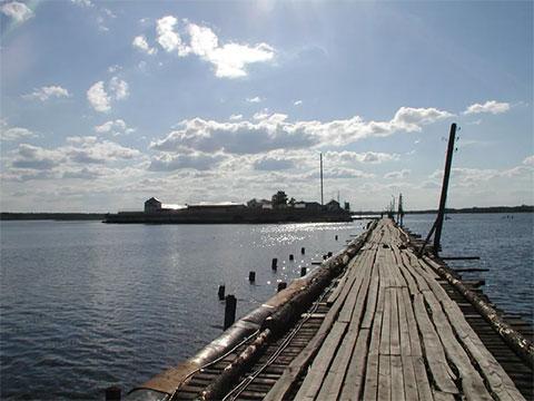 Мост на остров Огненный