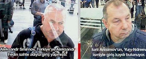 Фотографии задержанных турецкой полицией Смирнова и Анисимова в 2016 и 2017 годах