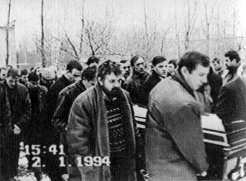 Похороны Сергея Фролова