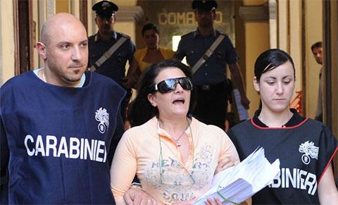 Мария Личчарди в суде