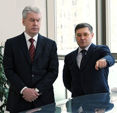 Сергей Собянин и Владимир Якушев