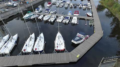 Яхт-клуб на Крестовском острове