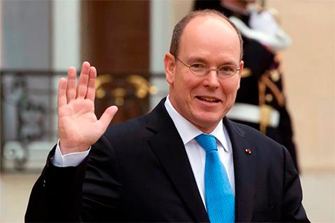 Правящий князь Монако Альбер II