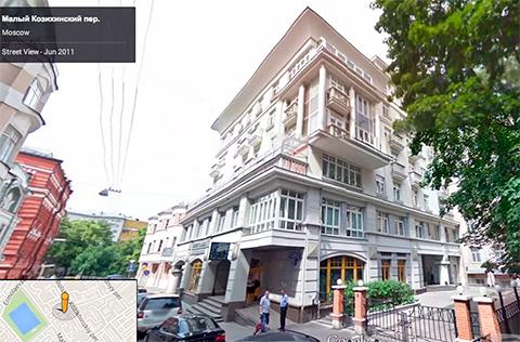 В этом доме квартира Антона Дроздова