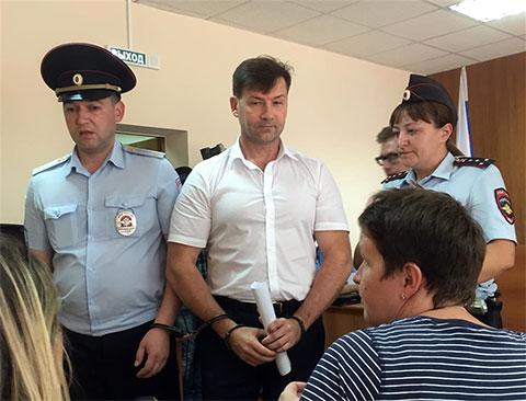 Дмитрий Сазонов - задержание