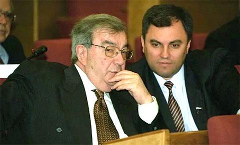 Евгений Примаков и Вячеслав Володин