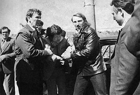 Задержание Япончика. 14 мая 1981 года