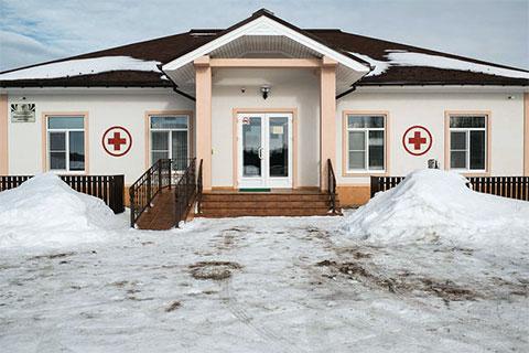 Здание медицинского центра в Городне