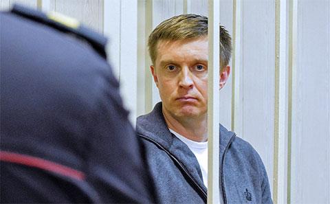 Дмитрий Сергеев на суде