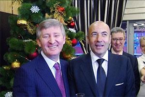 Слева: Ринат Ахметов и Игорь Крутой