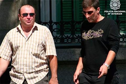 Справа: вор в законе Кахабер Шушанашвили