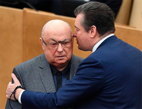 Леонид Слуцкий и Владимир Ресин