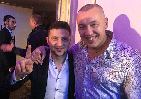 Александр Зелинский и Владимир Мунтян