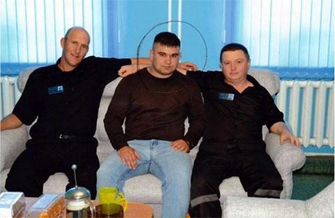 Справа: Вячеслав Цеповяз и Александр Уланов