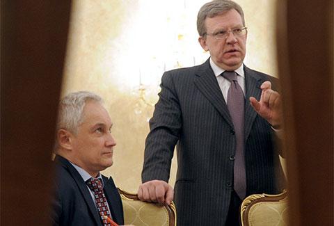 Слева: Андрей Белоусов и Алексей Кудрин