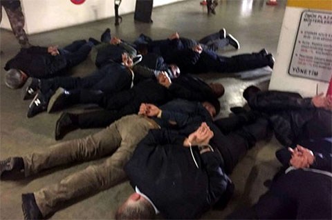 Момент задержания группы киллеров, готовивших покушение на Гули