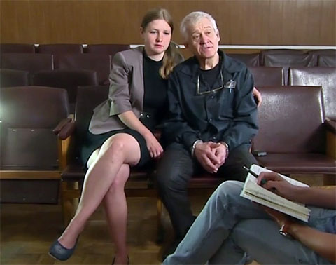Елена и Сергей Ткач сыграли свадьбу в житомирской тюрьме. У них родилась дочь