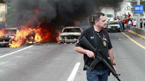 Обычная картина дня в Мексике