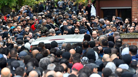 Похороны авторитета Нидал Раби