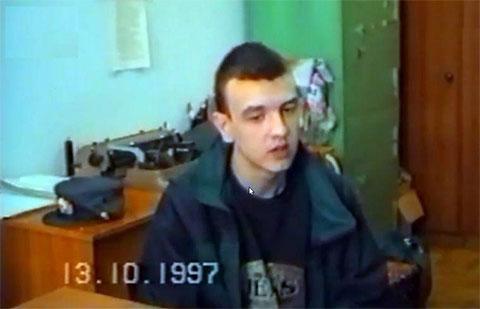 Один из киллеров банды Андрей Елисеев