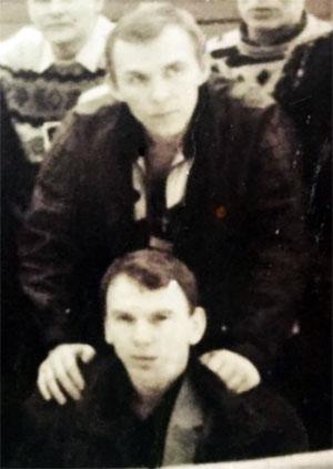 Воры в законе, вверху: Петр Науменко, внизу: Владимир Клещ