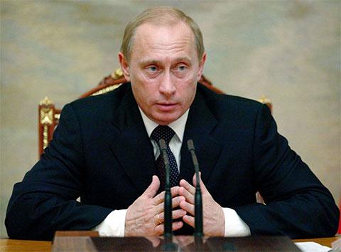 Владимир Путин - 2004 год