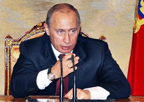 Владимир Путин - 2005 год