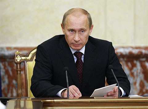 Владимир Путин - 2009 год