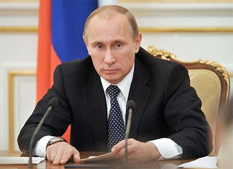 Владимир Путин - 2011 год