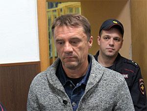 Валерий Маркелов в суде