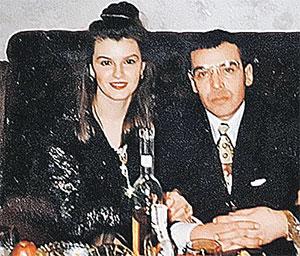 Вор в законе Игорь Бурилин (Бурила) и жена его брата Марина