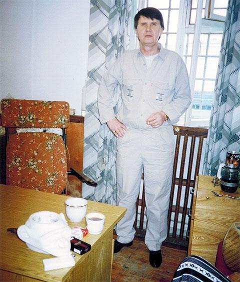 Вор в законе Эдуард Краснов - Эдик Красный