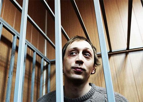 Павел Дмитриченко на суде